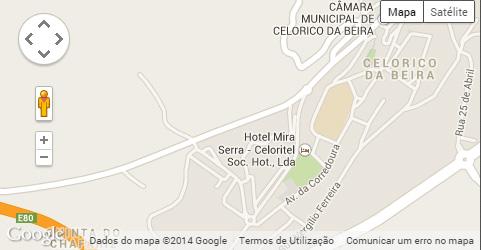 Localização da EB 2,3 Sacadura Cabral